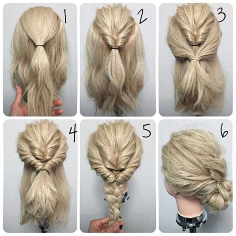 easy quick hairstyles for long thick hair cool quick updos for long thick hair http rnbjunkiex