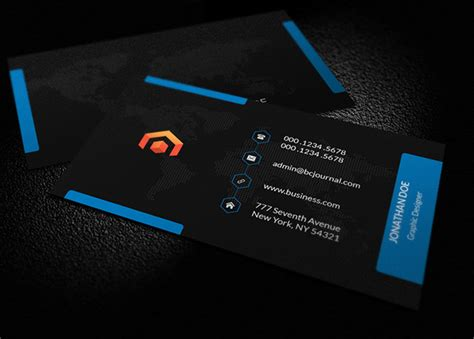 Free Name Card Design Template Psd by Awesome Free Business Cards Psd Templates And Mockup