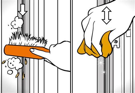pulire persiane pulire e revisionare le tapparelle consigli obi