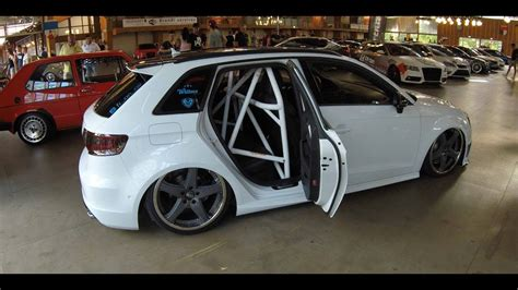 Audi A3 Sportback Tuning Innenraum by Audi A3 Sportback S Line Lowered Tuning Show Car S3
