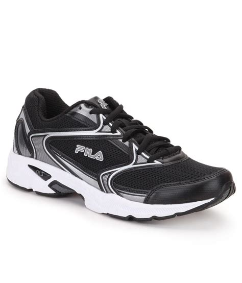 fila sports shoes price in india fila xtent 2 black sports shoes price in india buy fila