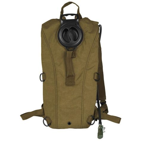 g tech hydration mil tec water pack mil spec coyote water hydration