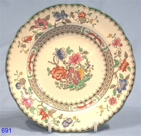 china designs copeland spode chinese rose tea plate rd no 629599 sold