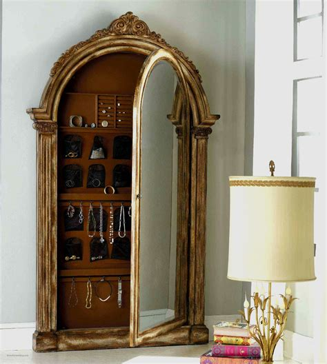 full mirror jewelry armoire wall mounted full length mirror jewelry cabinet luxury