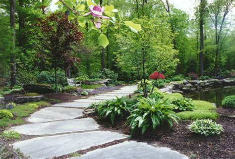 the natural garden pathway hickory hollow landscapers