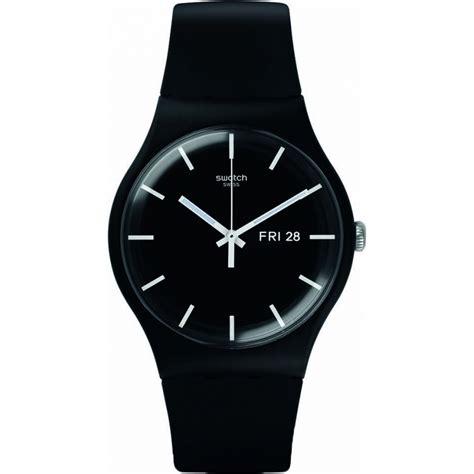 Swatch Suob720 suob720 swatch new gent mono black