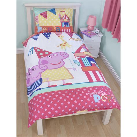 toddler comforter size peppa pig george pig duvet quilt covers toddler