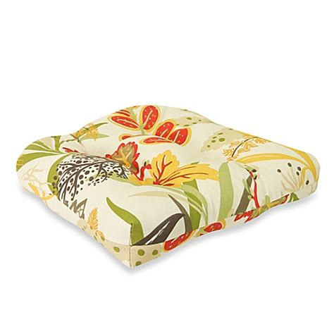 bed bath and beyond outdoor pillows outdoor wicker chair cushion in fishbowl seaweed bed