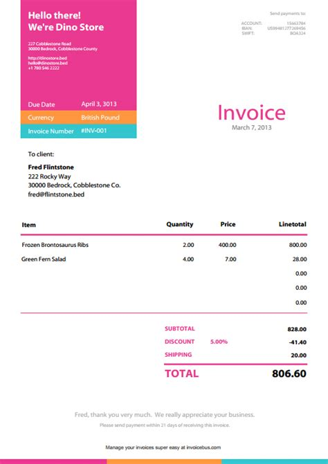bakery invoice template bakery invoice exle template studio design