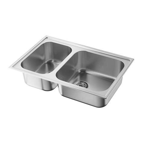 ikea double sink boholmen double bowl inset sink ikea