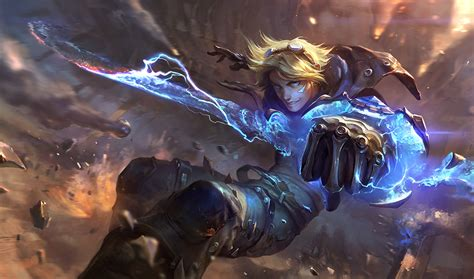 painting new 2014 ezreal classic skin league of legends wallpapers