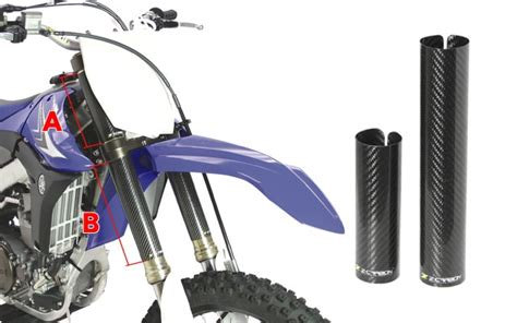 Zeta Motorradteile by Zeta Z Carbon Gabelwickel Zc35 4332