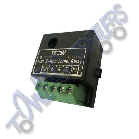 30 s type 12v tec3m self switching dual charge relay