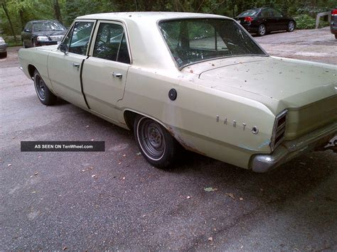 Dodge 4 Door by 1968 Dodge Dart 4 Door
