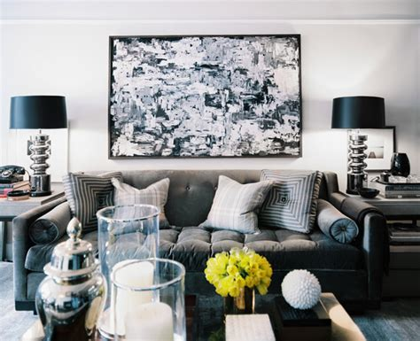 Gray And Black Living Room | black white and grey living room marceladick com