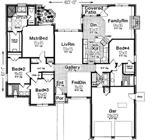 traditional 4 beds 3 baths 1856 sq ft plan 44 162 main traditional style house plan 4 beds 3 baths 2238 sq ft