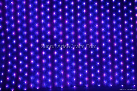 120l christmas net lights multi color lights led lights