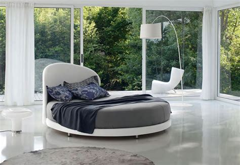bedroom with round bed unique round bed ideas that will give your bedroom a