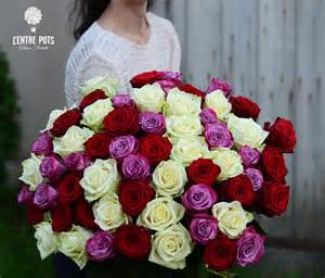 Vanda Vase Rose Rouge L Entre Pots Artisan Fleuriste Le Blog