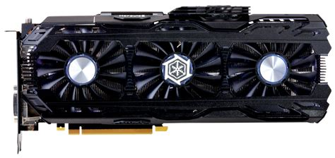 3 fan graphics card inno3d geforce gtx 1080 ti ichill x3 and ichill x4