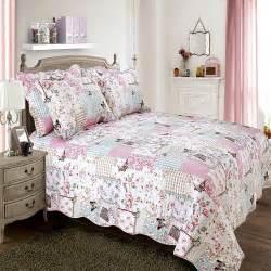 Patchwork Duvets - patchwork duvet pink tonys textiles