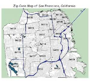 Sf Zip Code Map by Clic This Pic