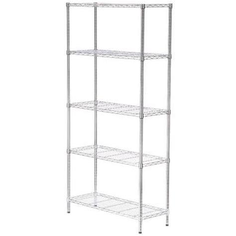 Husky 5 Shelf Heavy Duty Storage Unit by Husky 60 In W X 24 In D X 78 In H Husky Steel 5 Shelf