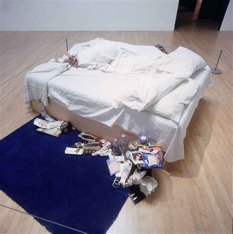 on my bed tracey emin tracey emins my bed the european party