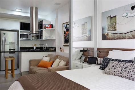 27 sq meters to practical one bedroom apartment with a linear layout