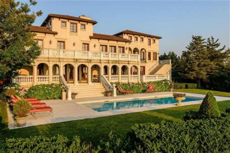Home Decor New York Estate Of The Day 19 9 Million Mediterranean Mansion In