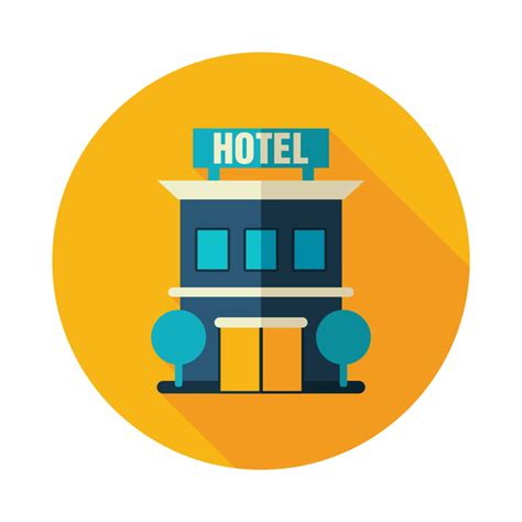 design icon by hotel hotel hotel flat icon vector holidays icons free download
