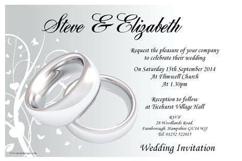 Wedding Invitation Card Flash by Template Sle Wedding Invitation Cards Template