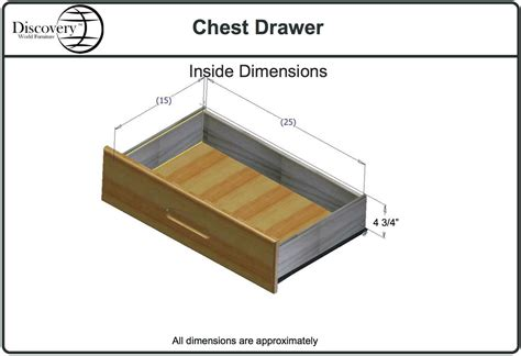 Drawer Dimensions by Discovery World Furniture Merlot Staircase