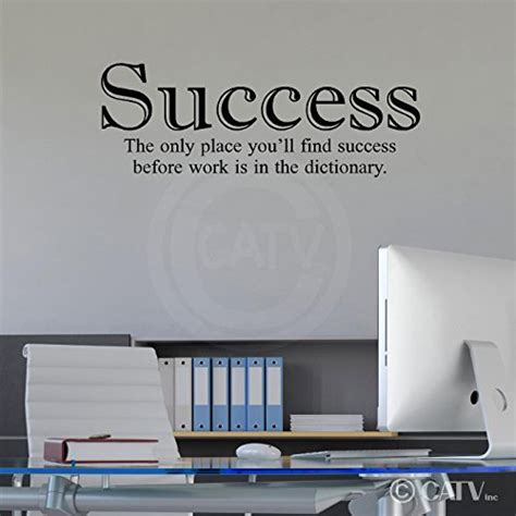success inspirational motivation vinyl wall quote decal funk n inspiration with wall quotes about success funk