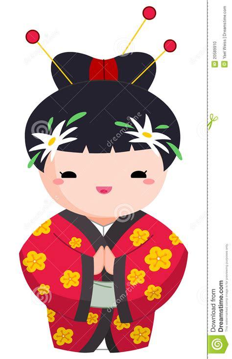 japanese girl stock photo image