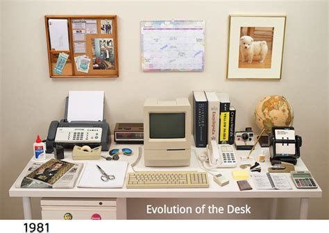 Evolved Office by The Astounding Evolution Of The Work Desk From The 1980s