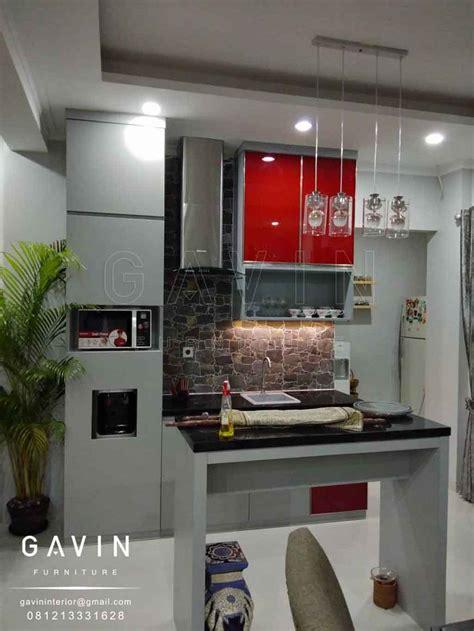 Cermin Di Pejompongan kabinet dapur kaca desainrumahid
