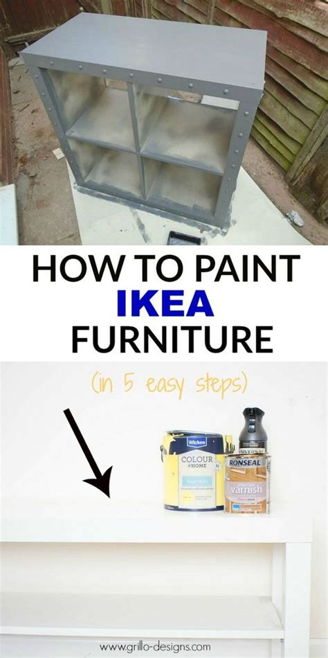 how to paint ikea furniture 15 ikea hacks to add fixer upper style to your home