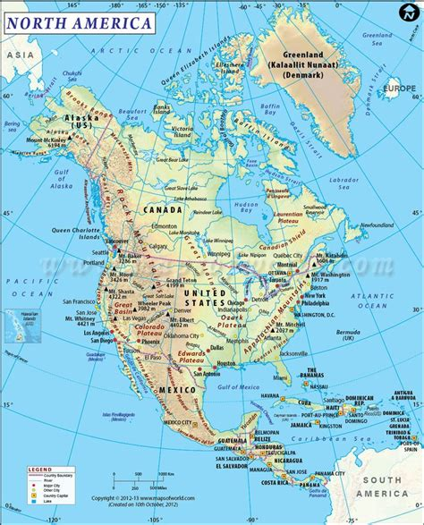 usa landform map best 25 map of america ideas on map