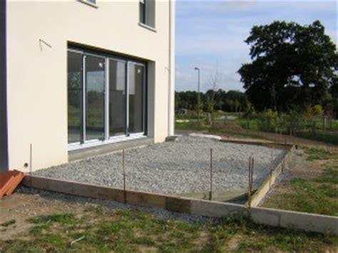 faire une terrasse beton 4502 terrasse le d et st 233 phane