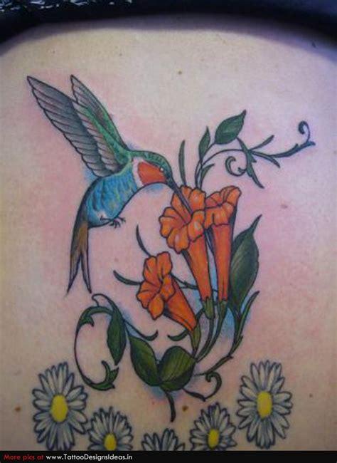 tattoo hummingbird flower humming bird tattoos hummingbird tattoos with flowers and