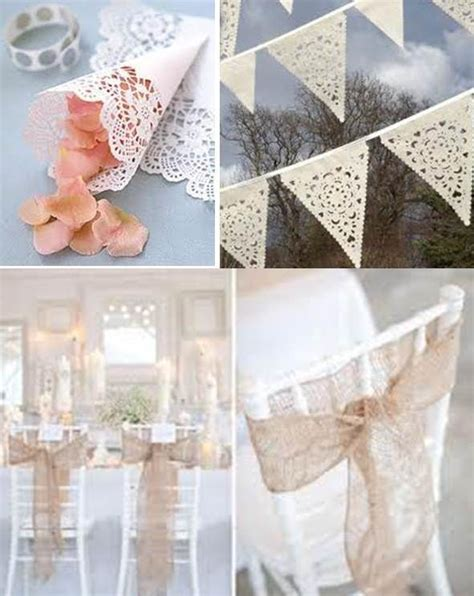wedding decorations with lace weddings on the french