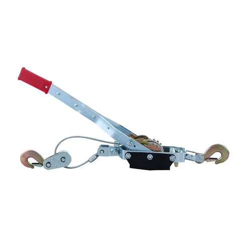 steel 4 ton come along cable puller winch with