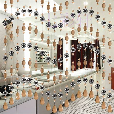 beads decoration home 35 ideas for interior decorating with wooden beads and