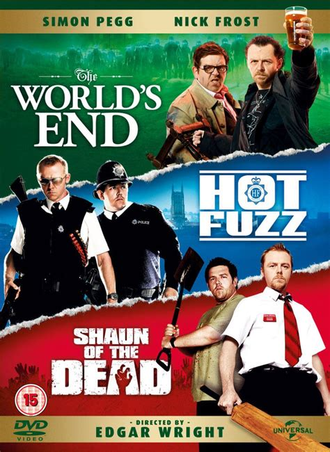 Of The Dead 2004 Dvd Collection Koleksi the world s end fuzz shaun of the dead dvd zavvi