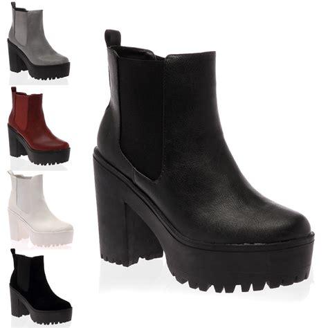 chelsea boots chunky heel is heel
