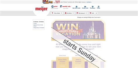 Theme Park Sweepstakes - meijer com vacationsweeps kellogg s and meijer theme park vacation sweepstakes