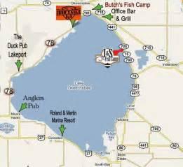 map okeechobee florida biker guide lake okeechobee