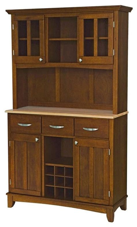 buffet with hutch contemporary china cabinets and