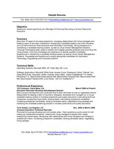 Resume Technical Summary Resume Profile Vs Objective Tax Form Online